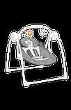 Дитяче крісло-гойдалка Lionelo RUBEN STONE GREY, фото 7