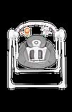 Дитяче крісло-гойдалка Lionelo RUBEN STONE GREY, фото 8