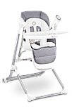 Кресло-качелька для кормления 2 в 1 Lionelo NILES GREY, фото 6