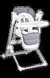 Крісло-гойдалка для годування 2 в 1 Lionelo NILES GREY, фото 6