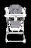 Крісло-гойдалка для годування 2 в 1 Lionelo NILES GREY, фото 8