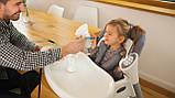 Крісло-гойдалка для годування 2 в 1 Lionelo NILES GREY, фото 10
