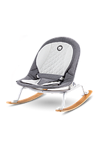 Дитяче крісло-гойдалка Lionelo ROSA GREY/WHITE