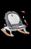 Дитяче крісло-гойдалка Lionelo ROSA GREY/WHITE, фото 2