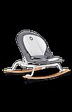Дитяче крісло-гойдалка Lionelo ROSA GREY/WHITE, фото 4