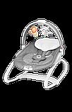 Дитяче крісло-гойдалка Lionelo HENK ROSE SCANDI, фото 2