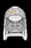 Дитяче крісло-гойдалка Lionelo HENK ROSE SCANDI, фото 4