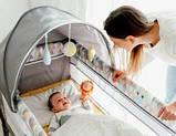 Кроватка-манеж Lionelo SVEN PLUS  YELLOW SCANDI, фото 10