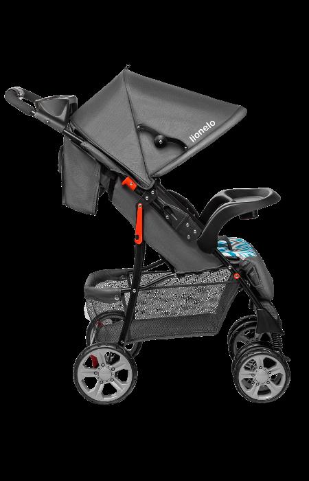 Прогулянкова коляска Lionelo EMMA PLUS BLUE SCANDI