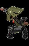 Прогулянкова коляска Lionelo EMMA PLUS FOREST GREEN, фото 3