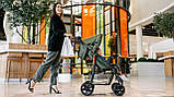 Прогулянкова коляска Lionelo EMMA PLUS FOREST GREEN, фото 8