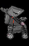 Прогулянкова коляска Lionelo EMMA PLUS PINK SCANDI, фото 4