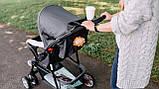 Прогулянкова коляска Lionelo EMMA PLUS PINK SCANDI, фото 7
