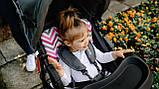 Прогулянкова коляска Lionelo EMMA PLUS PINK SCANDI, фото 10