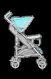 Прогулянкова коляска Lionelo ELIA TROPICAL TURQUOISE, фото 4
