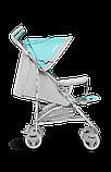 Прогулянкова коляска Lionelo ELIA TROPICAL TURQUOISE, фото 6