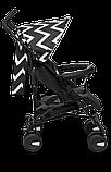 Прогулянкова коляска Lionelo ELIA OSLO BLACK/WHITE, фото 3