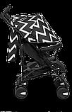 Прогулянкова коляска Lionelo ELIA OSLO BLACK/WHITE, фото 4