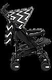Прогулянкова коляска Lionelo ELIA OSLO BLACK/WHITE, фото 5