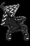Прогулянкова коляска Lionelo ELIA OSLO BLACK/WHITE, фото 6