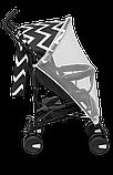 Прогулянкова коляска Lionelo ELIA OSLO BLACK/WHITE, фото 7