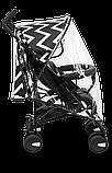 Прогулянкова коляска Lionelo ELIA OSLO BLACK/WHITE, фото 9