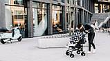 Прогулянкова коляска Lionelo ELIA OSLO BLACK/WHITE, фото 10