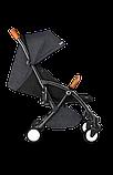 Прогулянкова коляска Lionelo JULIE BLACK/BLACK, фото 6
