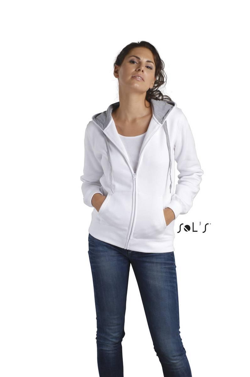 Футболка (куртка) SOL'S SOUL WOMEN (білий, M)