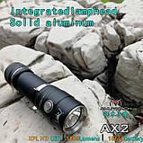 EDC Ручной фонарик Amutorch AX2 (1100LM, 5000k NW, SST20 led, IPX8, 5 режимов, аккумулятор 16340 в комплекте), фото 4