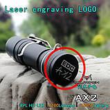 EDC Ручной фонарик Amutorch AX2 (1100LM, 5000k NW, SST20 led, IPX8, 5 режимов, аккумулятор 16340 в комплекте), фото 6