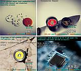 EDC Ручной фонарик Amutorch AX2 (1100LM, 5000k NW, SST20 led, IPX8, 5 режимов, аккумулятор 16340 в комплекте), фото 7