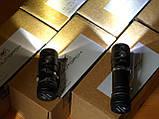 EDC Ручной фонарик Amutorch AX2 (1100LM, 5000k NW, SST20 led, IPX8, 5 режимов, аккумулятор 16340 в комплекте), фото 8