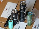 EDC Ручной фонарик Amutorch AX2 (1100LM, 5000k NW, SST20 led, IPX8, 5 режимов, аккумулятор 16340 в комплекте), фото 9