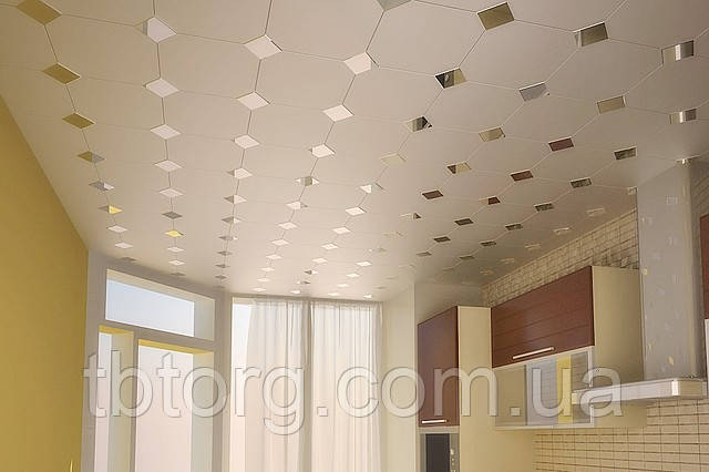 Купить реечный /кассетный/ потолок в Киеве