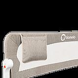 Захисний бортик для кровати Lionelo EVA BEIGE melange, фото 5