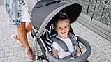 Прогулянкова коляска Lionelo ELIA GRAPHITE, фото 4