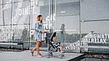 Прогулянкова коляска Lionelo ELIA GRAPHITE, фото 7