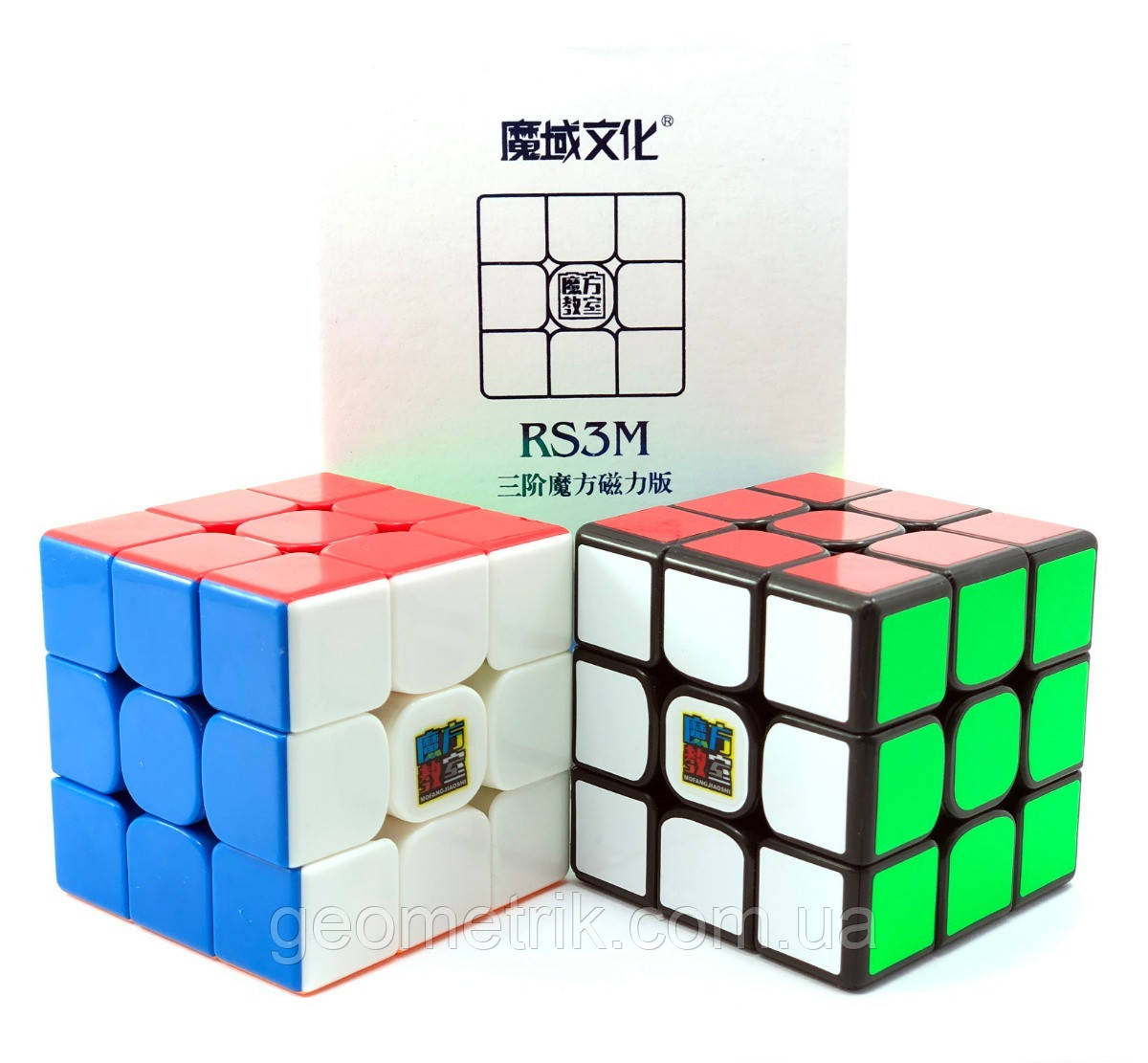 Кубик Рубика 3x3 MoYu MF3 RS3M magnetic (цветной)(магнитный, скоростной кубик, головоломка)