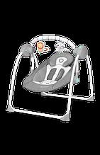 Дитяче крісло-гойдалка Lionelo RUBEN GREY TURQUOISE