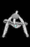 Дитяче крісло-гойдалка Lionelo RUBEN GREY TURQUOISE, фото 5
