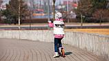 Дитячий самокат Lionelo Luca WHITE ORANGE, фото 8