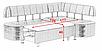 Кухонный угол раскладной Бридж Алiс-М, фото 6