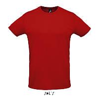 Спортивна футболка унісекс SOL'S SPRINT (червоний, M), фото 1