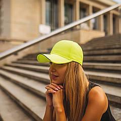 Кепка UV PROTECTION (лимонний, Взрослый)