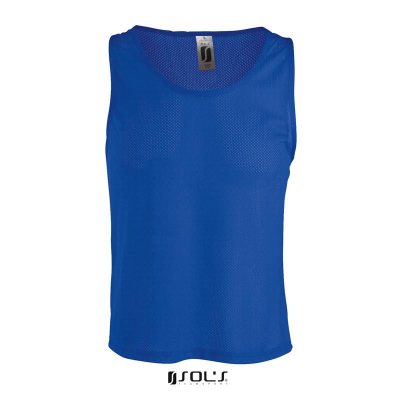 Накидка тренувальна (манишка) SOL'S ANFIELD (яскраво-синій, M)