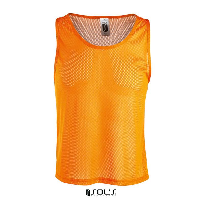 Накидка тренувальна (манишка) SOL'S ANFIELD (оранжевий, XL)