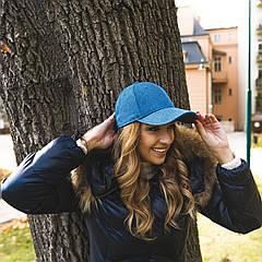 Кепка JEANS CAP (темно-синій, Взрослый)