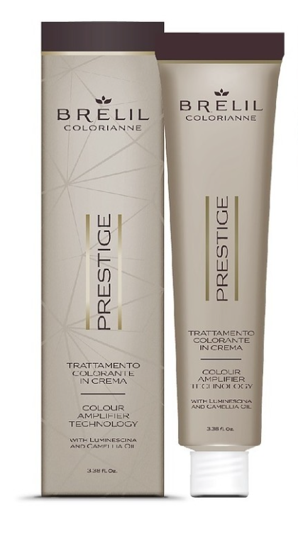 Стойкая крем-краска для волос Colorianne Prestige 6/77 тёмно-русый фиолетовый интенсивный