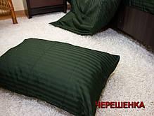 Семейный набор хлопкового постельного белья из Страйп Сатина №505918 Черешенка™, фото 3